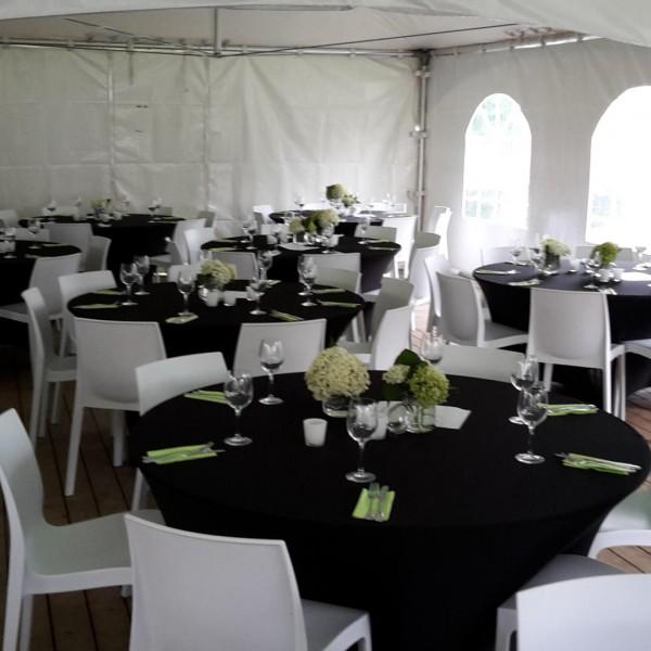 Partypakket 'Lounge Dinner' voor 24 personen