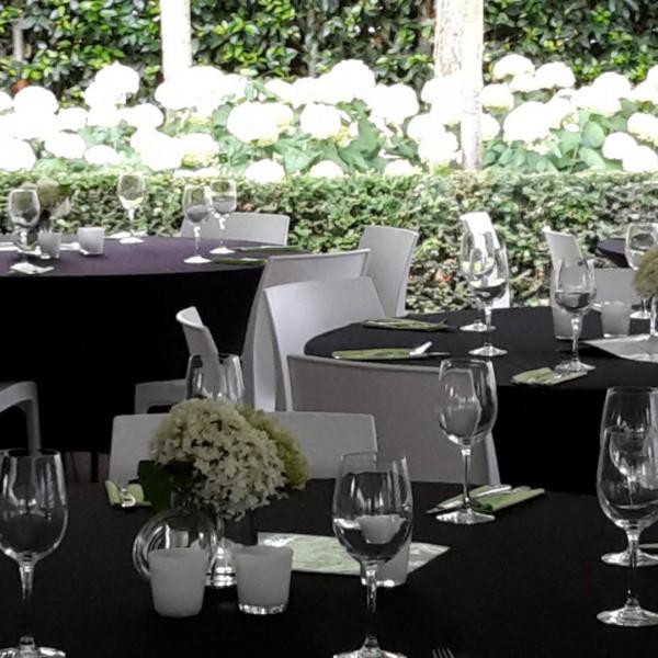 Partypakket 'Lounge Dinner' voor 48 personen