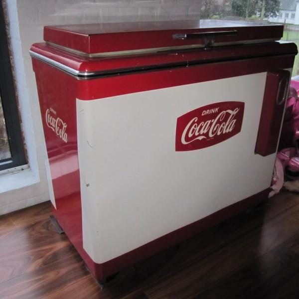 Retro Coca Cola frigo koffer €750