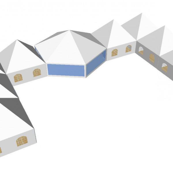 Hexagon zeshoektent
