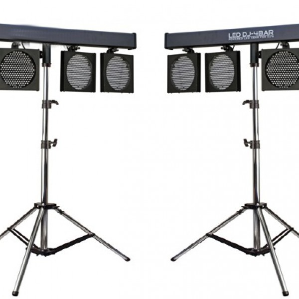 LED DJ 4-Bar set