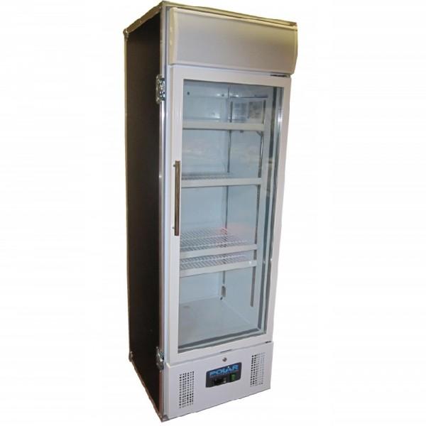 Flessen frigo met glazen deur