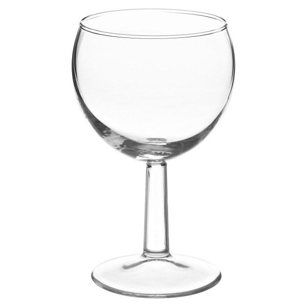 Witte wijnglas 19 CL €0.20 / Rode wijnglas 24 CL €0.20