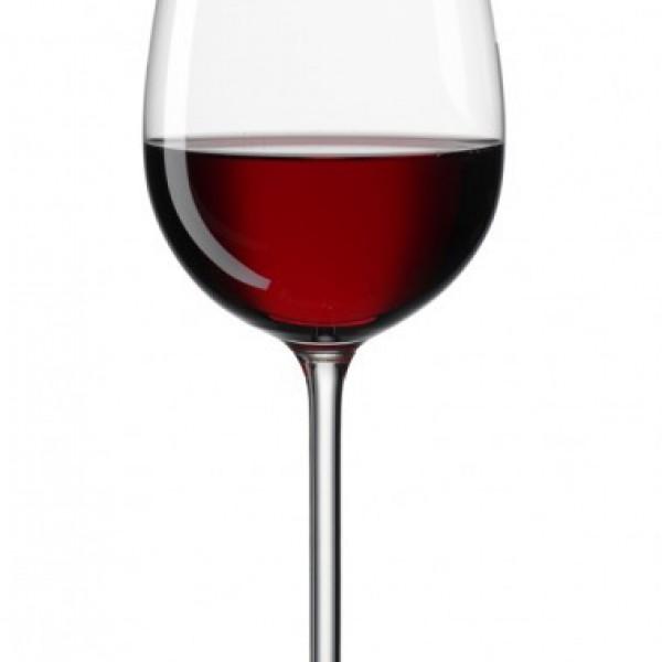 Sensation rode wijnglas €0.25